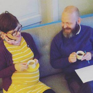 Carolina och Daniel planerar