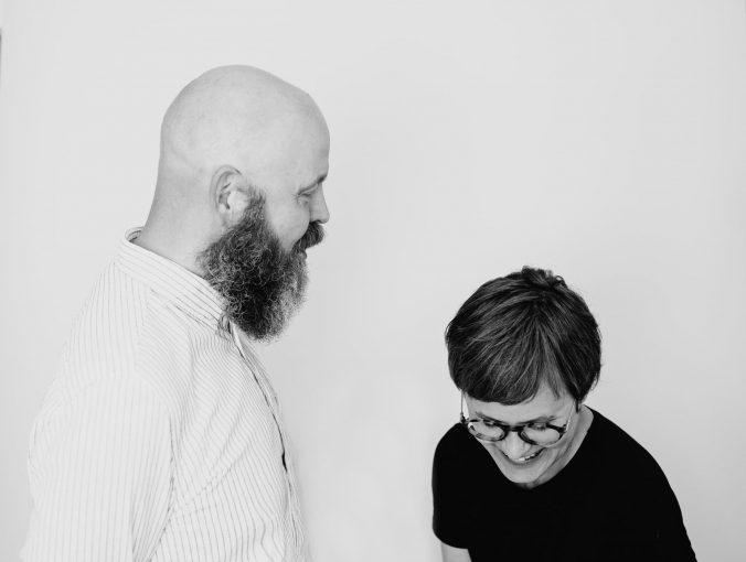 Foto på Daniel Grankvist och Carolina Linné